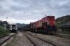 HK 2620005 ex 001 (HZ 2044031) shunts wagons at Hani I Elezit before working IC892 1745 Hani I Elezit – Prishtinë