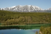 Emerald Lake between Whitehorse & Carcross, Yukon, Canada