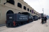 Almacenes San Jose Artisans Market Havana, steam locos 1501 – 2-6-0 Rogers #5000, 1894 & 1403 – 2-6-0 Rogers #4647, 1892 & E1334 – 2-8-0 Baldwin #53655, 1927