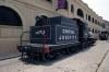 Almacenes San Jose Artisans Market Havana, steam loco1403 – 2-6-0 Rogers #4647, 1892 & E1334 – 2-8-0 Baldwin #53655, 1927