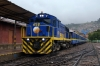 Peru Rail MLW DL560 #659 at Cusco Wanchaq with train 20 0800 Cusco Wanchaq - Puno (Andean Explorer)
