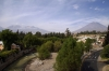 Arequipa, Peru - Chachani Mountain & El Misti Volcano