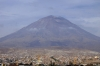 Yanahuara Viewpoint, Arequipa, Peru - El Misti Volcano