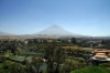 Arequipa, Peru - Views of El Misti Volcano from Carmen Alto Viewpoint