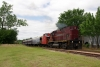 A&M Alco C420 #58 heads the late running 1200 Van Buren - Copp Jct