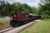 A&M Alco C420 #68 heads the late running 1200 Van Buren - Copp Jct