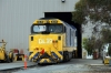 PN Clyde EMD AT42C, DL Class, DL39 on shed at Dry Creek Motive Power Depot, Adelaide