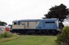 Ex Queensland 1600 Class, EE 6CSRKT, #1604 at Queenscliff after arrival with the ecs for our Private Charter on the Bellarine Railway, Victoria