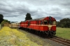 Ex Tasrail X Class, EE 6SRKT, X20/X3 at Drysdale after arrival with our Private Charter on the Bellarine Railway, Victoria