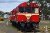 Ex Tasrail X Class, EE 6SRKT, X20/X3 at Queenscliff after arrival with our return Private Charter on the Bellarine Railway, Victoria