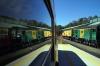 Don River Railway, Devonport, Tasmania - EE SRKT Y Class, Y6 & X Class, X4 prepare to work the 1500 Don Village - Coles Beach service