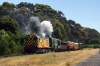 Don River Railway, Devonport, Tasmania - EE SRKT's Y6 & X4 perform a false start to bring the stock back into Coles Beach after Goodwin Alco DL531 830 Class, 866 had done the same in the opposite direction