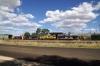 Engenco's Parkes scrapline - (L-R) Comeng/MLW CE615 80 Class, 8023, 8021, Goodwin/MLW DL500G 442 Class, 442s3, Comeng/MLW CE615 80 Class, 8038 & Goodwin/Alco DL531 48 Class, 48s37