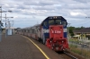 V Line Clyde EMD, G18HB-R, P Class, P18 (T&T with P17 on rear) arrive Ardeer with 8139 1726 Melbourne Southern Cross - Bacchus Marsh