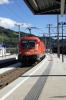 OBB 1116111 & Railjet 1116242 arrive into Bruck a. d. Mur with RJ630 1314 Villach - Wien Meidling