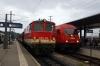 St Polten L-R Novog 2095015 arrives with 6824 0550 Laubenbachmuhle - St Polten & SBB 2016034