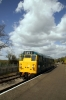 31101 runs round the DMU at Avon Riverside to work the 1238 Avon Riverside - Oldland Common