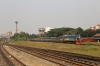 BR MEI15 2903 arrives into Dhaka Kamlapur with an unidentified train
