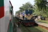 BR BEA20 6014 waits at Arani with train 6 0830 Chapai Nawabganj - Sirajganj Bazar