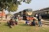 BR BEM20 6116 at Rajshahi with 565 1300 Rajshahi - Chapai Nawabganj