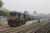 BR BEA20 6013 waits departure from Rajshahi with the late running Shuttle-1 0530 Rajshahi - Chapai Nawabganj