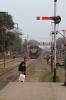 BR BEM20 6113 arrives into Rajbari with 508 1600 Goalando Ghat - Poradah