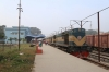 BR BEA20 6003 at Faridpur after arriving with the 0750 Rajbari - Faridpur