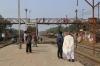 BR BEM20 6111 arrives into Rajbari with 25 0200 Khulna - Goalando Ghat