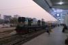 BR BEM20 6113 at Rajshahi with Shuttle-1 0530 Rajshahi - Chapai Nawabganj
