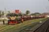 BR BEB22 6309 stabled at Rajshahi with an oil train