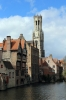 Bruges, Belgium - Bell Tower in Market Square