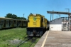 CBTU Alco RS8 6008 arrives into Cabedelo with train 11 0943 Santa Rita - Cabedelo