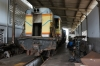 CBTU Shed at Natal - Alco RS8 6018; part stripped, out of service, crash damaged