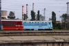 BDZ 45196 arrives into Sofia with 4611 0600 Ruse - Sofia; passing 41275 as it does