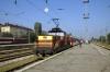 BDZ 61012 at Sofia after arrival with 293 2150 (P) Belgrade - Sofia