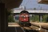 BDZ 55141 runs light through Podujane