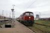 BDZ 07106 arrives into Poveljanovo with 28103 0900 Kardam - Varna as BDZ 44191 departs with 2612 1105 Varna - Sofia
