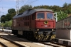 BDZ 07032 at Ruse waiting to work IC460 0755 Sofia - Bucharest over the border to Giurgiu Nord in Romania