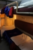 2 berth sleeper cabin on board the N'gaoundere - Yaounde services