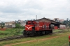 CamRail Bombardier MX620 CC2207 shunts onto shed at Yaounde