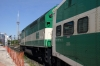 GO Transit MPI MP40H-3C #655 waits to depart Exhibition with 923 1541 Oshawa - Aldershot on the Lake Shore Line