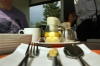 "On board Le Massif's ""Discover Baie St Paul"" dining train"