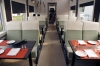 "On board Le Massif's ""Escape to La Malbaie"" dining train"
