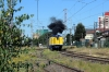 Temuco, Chile - GE 105t Shovelnose Alco D16005 shunts off the train to run to the rear and position the motorail vehicles for offloading; D16012 would then shunt the train away