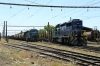Temuco, Chile - FEPASA GM SD39-2's 2357 & 2361 sit in the yard adjacent to the station with their respective freights