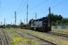 Temuco, Chile - FEPASA SD39-2 2357 heads away from the yard with a southbound freight