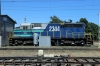 Temuco, Chile - FEPASA SDL39 2344 sits on shed in the yard adjacent to the station