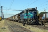 Temuco, Chile - FEPASA GM SD39-2 2361 stabled in the yard adjacent to the station with a freight
