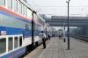 CR DF4D-4211 waits to depart Tongzhou Xi with K7711 0756 Beijing - Chengde