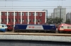 CR SS8-0126, HXD3D-0296, HXD3C-0950 & SS9-0067 at Beijing Loco Shed